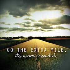 Web Design Agency 'GO THE EXTRA MILE' image of road & sky