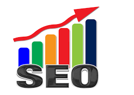 Image of SEO upward trending graph graphic, illustrating Search Engine Optimization Services, which are a vital component of good Darlington Website Design